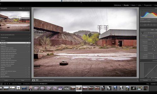Deriva escuela de fotografía en Granada taller de flujo de trabajo con Lightroom impartido por Javier Morales docente