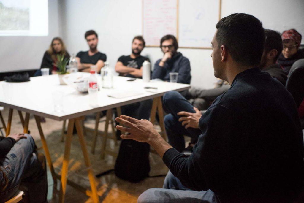 Deriva escuela de fotografía en Granada formación cursos talleres en el espacio de Ínsula Sur