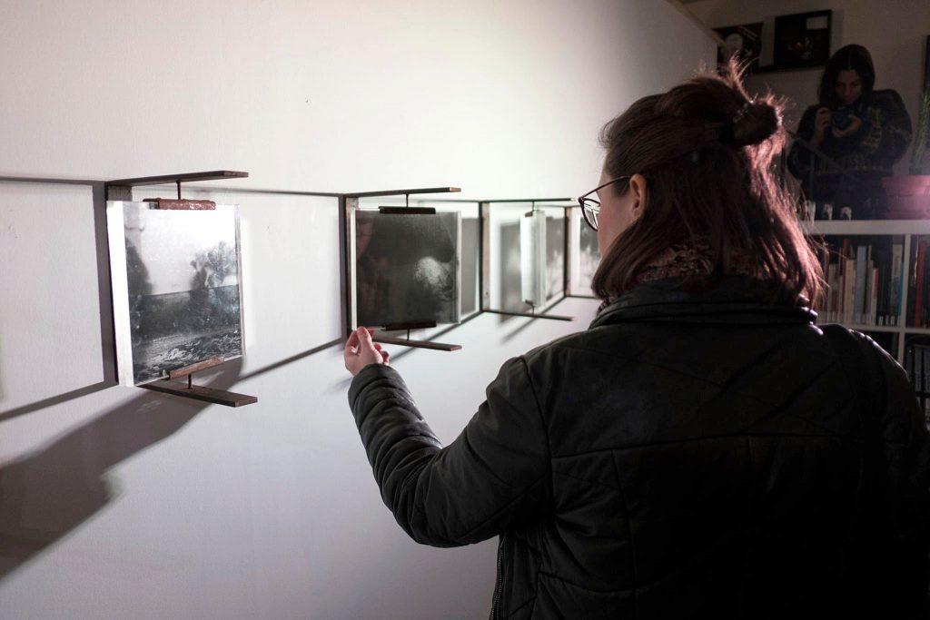 Deriva Escuela Exposición 7-14 del no estado de Gema Casas