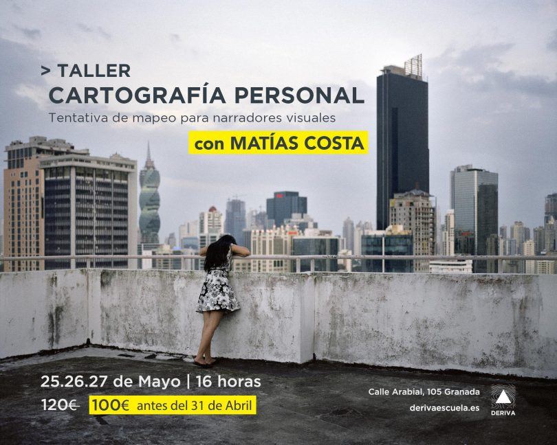 Taller Matías Costa Cartografía personal granada