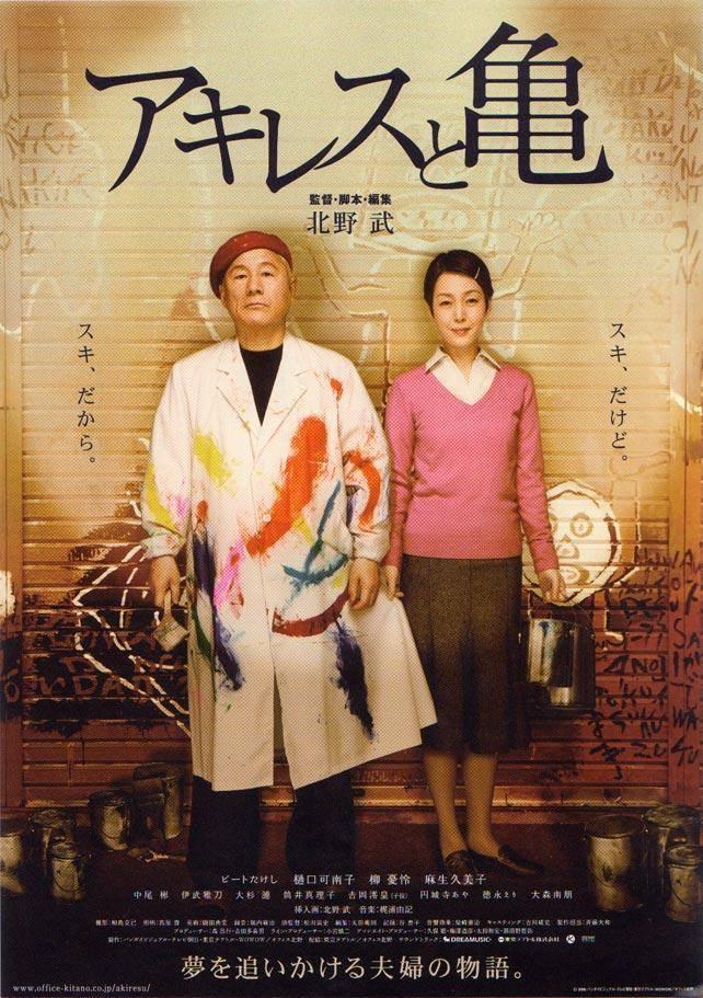 Achilles to Kame Takeshi Kitano