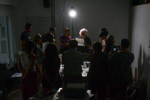 Taller Detrás de la cámara con Oscar Molina